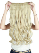 Sexybaby Synthetic Hair Extensions Hair-pieces Clip-in 60cm Curly Half Full Head with 5 Clips