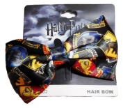 Harry Potter Hogwarts House Crest Logos Clip On HAIR BOW