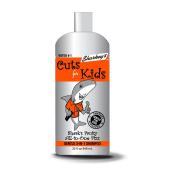 Sharkey's GENTLE LINE for Kids Shark's Fruity All-In-One Fizz-Gentle 3-in-1 Shampoo Just For Kids, Large Bottle, 950ml