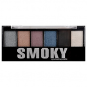 6 Colour Smoky Eye Shadow Palette