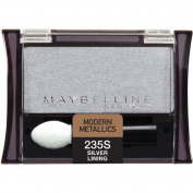 Maybelline New York Expert Wear Eyeshadow Singles, Silver Lining 235 Shimmer, 5ml by Maybelline