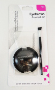 Best True Real Kleancolor Eyebrow Essential Kit , Shade Black