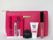 bareMinerals Good To Go 4 Fabulous Must-Haves Gift Set w/Cosmetic Bag Primer + Veil + Mascara + Lipgloss