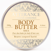 Attirance - Body Butter - Shea - 200ml - All Natural with Shea Butter, Jojoba Oil & Beeswax