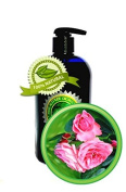 SILKY SWEET ROSE TM Hand & Body Lotion - 470ml - with real Silk Peptides - by High Altitude Organics