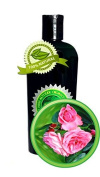 SILKY SWEET ROSE TM Hand & Body Lotion - 240ml - with real Silk Peptides - by High Altitude Organics