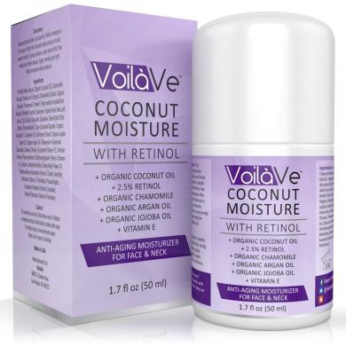 Coconut Moisture with Retinol - Organic Anti Ageing Moisturiser - 50ml