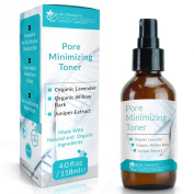 Dr. Straight's Pore Minimising Toner - Formulated for Oily, Reactive, Congested Skin + Helps Reduce Visible Pores & Shine + For a Long Lasting Matte Finish - Pharmacist Formulated