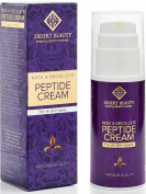 Neck Firming Cream, Anti Ageing Moisturiser for Neck & Décolleté (100ml) | Advanced Stem Cell + Collagen Formula For Tightening & Lifting Sagging Skin | Cruelty Free | by Desert Beauty