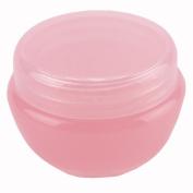 10pcs 10ml Lid Plastic Empty Container Jar Pot Cosmetic Eyeshadow Makeup Face Cream Lip Balm Jars Pink