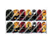 Halloween Nail Art Wraps Decals Nail Art Transfer Stickers Set of 14