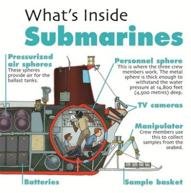 What's Inside?: Submarines (What's Inside?)