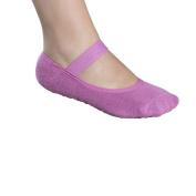 Lupo Women's Butterfly Non Slip Yoga Socks