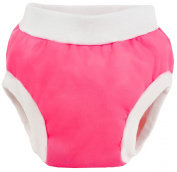 Kushies Baby PUL Training Pant, Fushia, Small