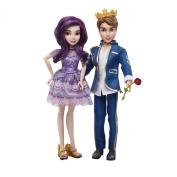 Disney Descendants Mal Isle of The Lost and Ben Auradon Prep Dolls