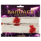 3M HALLOWEEN ZOMBIE BLOOD STAIN BANDAGE PARTY FANCY DRESS COSTUME OUTFIT ACCESSORY