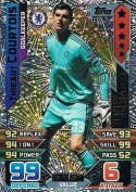 Match Attax 2015/2016 Thibaut Courtois Man Of The Match Trading Card 15/16