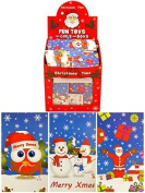 12 x Mini Christmas Notepads
