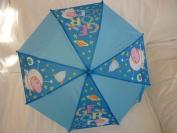 Childrens Blue Peppa Pig (George) Umbrella