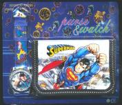 Superman Children's Watch Wallet Set For Kids Children Boys Girls Great Christmas Gift Gifts Present - Sold by Happy Bargains Ltd