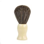 Ivory Badger Shaving Brush by Boss Razors