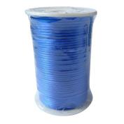 LanShi 2mm x 100 yards Rattail Satin Nylon Trim Cord Chinese Knot Royal Blue
