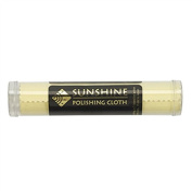 Sunshine® Polishing Cloth for Sterling Silver, Gold, Brass and Copper Metal; Packaged in a Tube