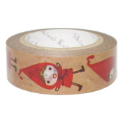 SEAL-DO Little Red - Washi Tape Metallic - Made in Japan
