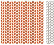 Marianne Design Embossing Plus Die, Folder Extra, Knitting