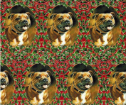 Staffordshire Bull Terrier Christmas Gift Wrap Paper