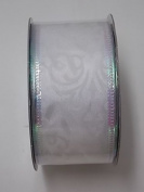 Wire Edged Ribbon - Wedding, Gift, Craft, Party Supplies (2 Rolls)