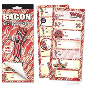 Bacon Gift Card Stickers by Accoutrements