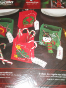 Bucilla Felt Applique Kit ... Set of 4 Mini Gift Bags