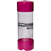 Viewtainer Slit Top Storage Container, 5.1cm by 15cm , Raspberry