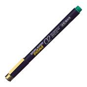 Sakura Pigment Ink Pen, Pigma Micron 02, Green