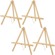 US Art Supply 41cm Tall Tripod Easel Natural Pine