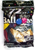 Tablemate Products 127258 72 Count Assorted Met Balloon