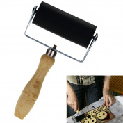 LING'S SHOP New 6cm Professional Brayer Ink Painting Printmaking Roller Art Stamping Tool