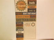 The Paper Loft *People* Cardstock Word and Title Cut-outs