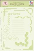 Fairytale Creations Elegant Journaling Stencil, 22cm L x 28cm H