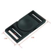 "Bluemoona 10 PCS - Side Release Buckle Plastic Paracord webbing strap 3/4"""