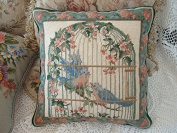 New Royal Collection Handmade Wool Needlepoint Cushion Cover/ Pillow Sham NP803