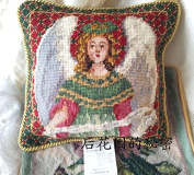 New Royal Collection Handmade Wool Needlepoint Cushion Cover/ Pillow Sham NP032