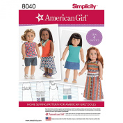 Simplicity Patterns American Girl Doll Clothes for 46cm Doll Size