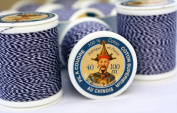 2 pack Fil Au Chinois #725 Denim Thread - 2 x 100m spool (200m total) - MADE IN FRANCE