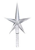 National Artcraft Clear Crystal Stars For Ceramic Christmas Trees