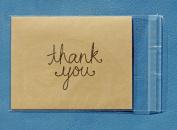- 100 - Clear Resealable A-2 Card Envelopes Polypropylene Cello Bags 11cm x 15cm 1.5 mil
