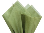 Tapestry Green Wrap Tissue Paper 38cm X 50cm - 100 Sheets