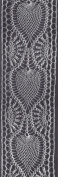 Vintage Crochet PATTERN to make - Pineapple Motif Insertion Panel Strip Border. NOT a finished item. This is a pattern and/or instructions to make the item only.