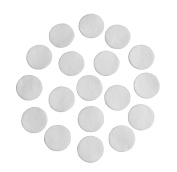 Cream Adhesive Felt Circles; Package of 48 or 240 Wholesale, 3.8cm Wide, Die Cut Appliques; DIY Projects